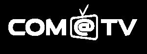 Logo Comatv officiel Blanc